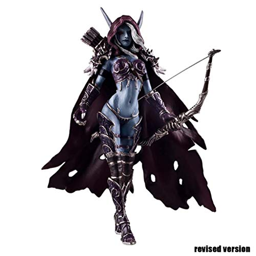 Luoyongyou World of Warcraft Forsaken Queen Sylvanas Windrunner Action Figure Kid Toy 5.5'