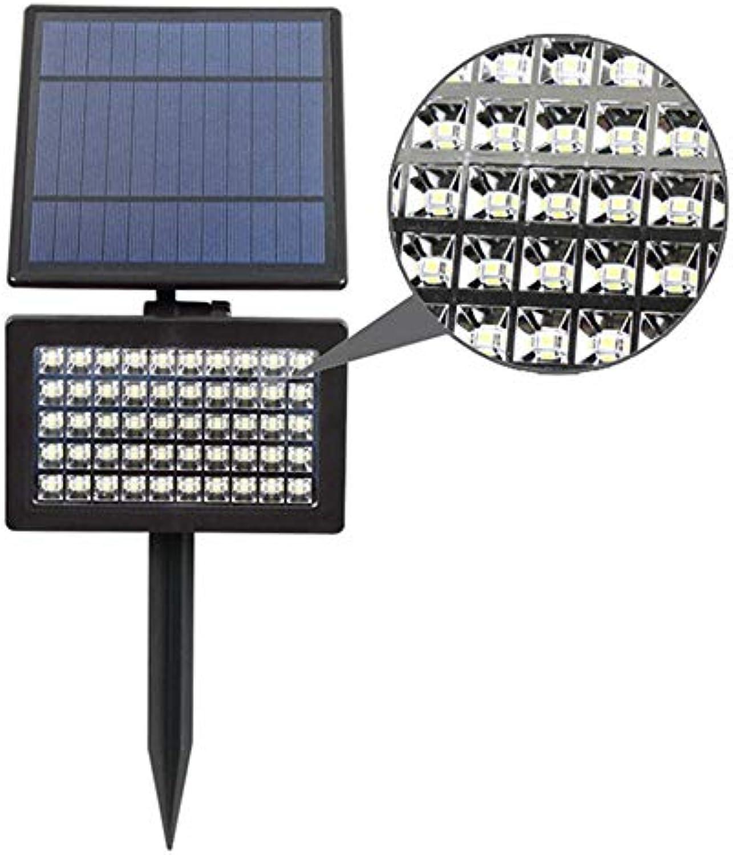 CHUSHENG 50LED Solar Strahler, 2 InsGrößetionsmethoden IP65 Wasserdicht Intelligente Lichtsteuerung Induktion Outdoor Garten Rasen Landschaft Flutlicht