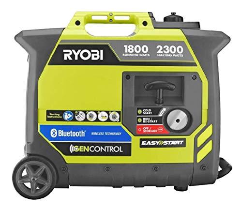Ryobi Bluetooth Super Quiet Gasoline Generator
