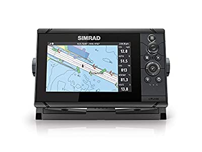 Simrad Cruise-7 Chart Plotter with 7-inch Screen and US Coastal Maps Installed by Simrad