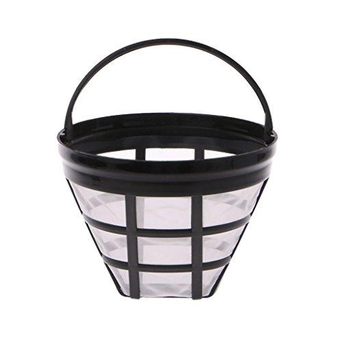 PULABO Filtre à café réutilisable sans filtre à café permanent en acier inoxydable de tasse de papier de haute qualité pratique