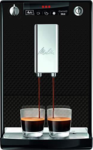 Melitta Caffeo Solo E 950-333 Kaffeevollautomat (Exzellenter Kaffee-Genuss dank Vorbrühfunktion und herausnehmbarer Brühgruppe) anthrazit