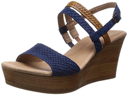 UGG - Lira Mar Chaussures Plates pour Femme, Bleu, 41 EU