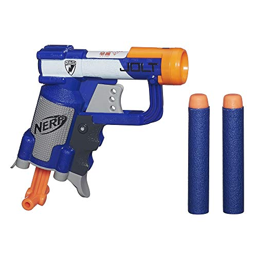 Nerf A0707EU6 - Arma Giocattolo Jolt, Nero/Blu/Arancione/Bianco