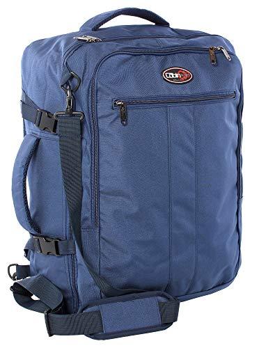 CABIN GO 5541 Zaino bagaglio a mano/cabina da viaggio leggero, Tracolle a Scomparsa, Valigia Borsa da cabina 55x40x20 cm 44 litri. Approvato volo IATA/EasyJet/Ryanair