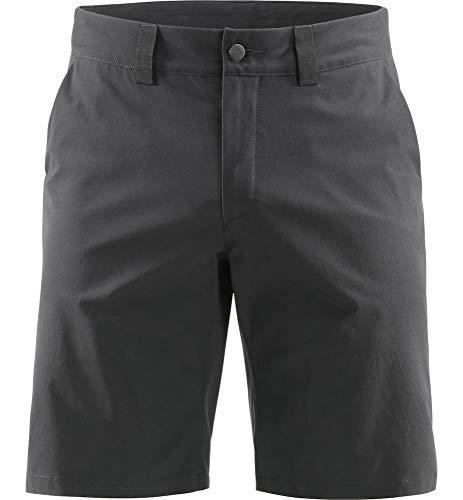 Haglöfs Kurze Wanderhose Herren Kurze Wanderhose Mid Solid Shorts Wasserabweisend, Windabweisend, Stretch Small True Black XL XL