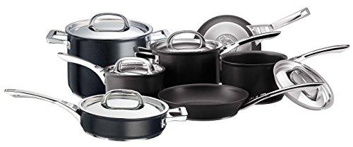 Circulon Infinite Hard Anodised Cookware Set, 7-Piece - Black