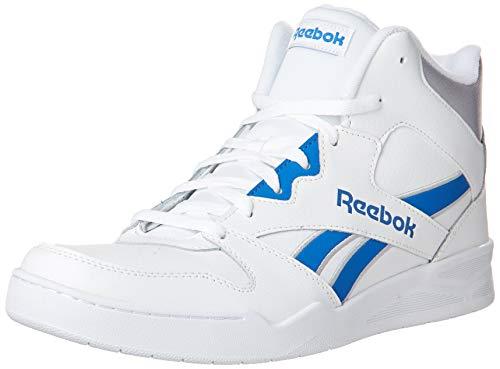 Reebok Royal Bb4500 Hi2 Herren-Sneaker, (Weiß/Humble Blue/Cold Grey), 39.5 EU