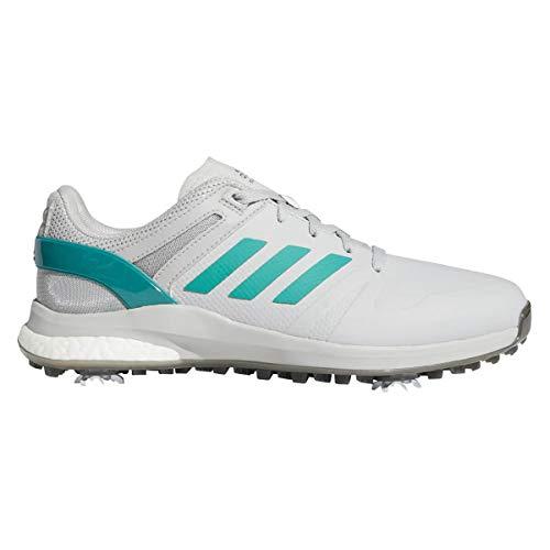 ADIDAS EQT, Zapatos de Golf Hombre, Gris/Verde, 46 EU