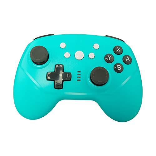 DZSF pour Nintendo NS Switch Pro/Switch Lite Jeux Gamepad Controller sans Fil Bluetooth 3.7V 600MAH Joysticks Contrôleur De Jeu,Bleu