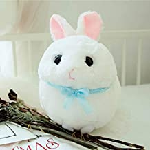 MANGMOC Cute Rabbit Plush Round Fat Stuffed Soft Animal Doll Toy Plush Rabbit Pillow Birthday for Kids Teen Must Haves 7 Year Old Boy Gifts Girl S Favourite Superhero Cake Topper Unboxes