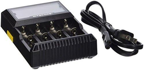 Chargeur de Batterie Universel Nitecore-D4 pour 26650 22650 18650 18350 AA AAA AAAA