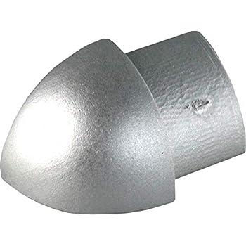 Premiumcoin Exterieur H 12 5mm Quart De Rond Aluminium Argent