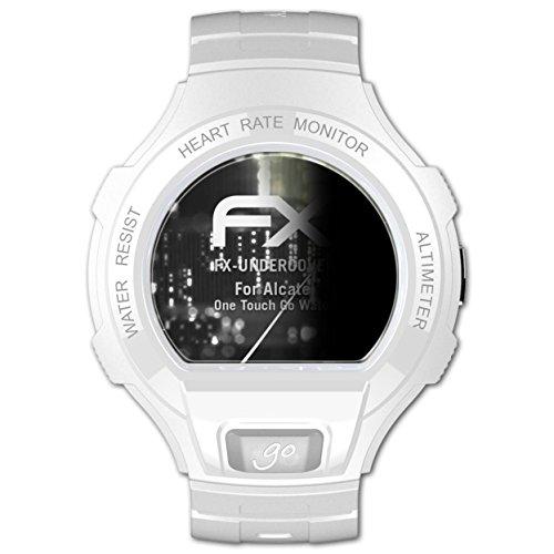 atFoliX Blickschutzfilter kompatibel mit Alcatel One Touch Go Watch Blickschutzfolie, 4-Wege Sichtschutz FX Schutzfolie