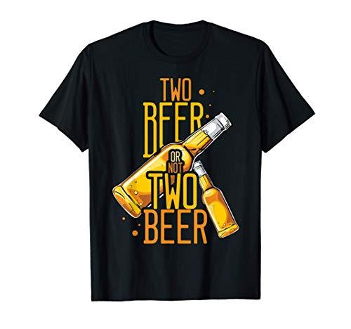 ビールかどうかビール劇場ビールを飲む人 Tシャツ