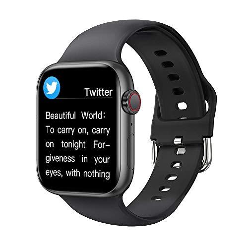 Intelligente Uhr 2021 Neue Smartwatch Frau Männer Bluetooth-Anruf 1,72