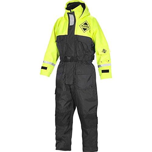 Fladen Flotation Suit 845GS - Costume da bagno in nero e giallo, la tuta più leggera sul mercato senza compromessi in termini di sicurezza (XXS)