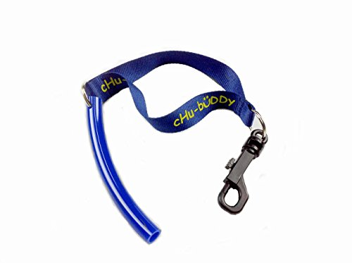 chubuddy Strong Tube Blue for ADHD, Anxiety, Autism Chewing and Biting- for Focus, Attention and Calm