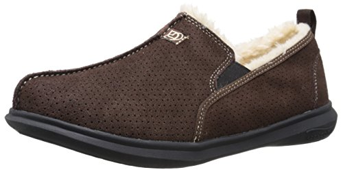 Spenco Men's Supreme Slipper, Chocolate, 10 M Medium US