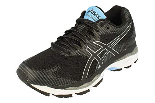 Asics Gel-Ziruss 2 Mujeres Running Trainers 1012A014 Sneakers Zapatos (UK 5 US 7 EU 38, Black Black 001)