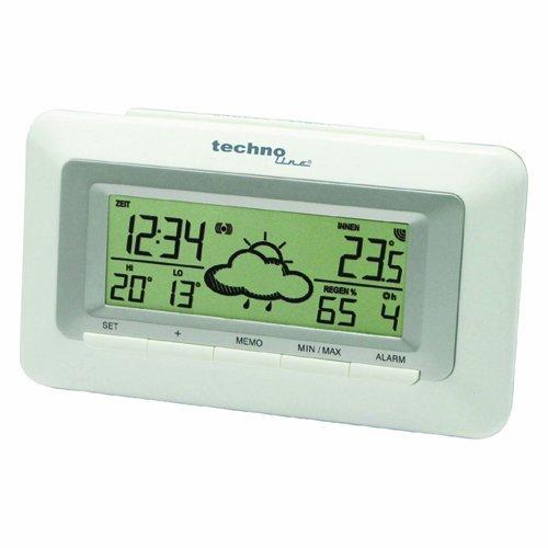 WeerDirekt Wekker WD 1080 met binnentemperatuurweergave en weersvoorspelling