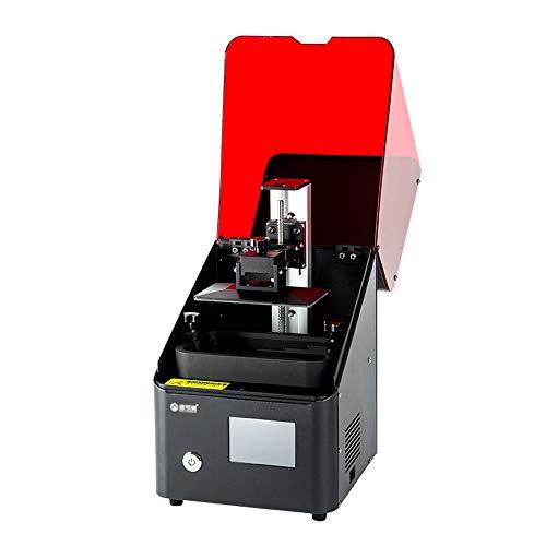 SMGPYDZYP Imprimante 3D, Imprimante 3D de Traitement de lumière de Bureau, S5 LCD Haute Précision Quasi-Industrielle Trois D Impression Photosensible À la Résine
