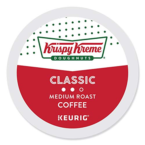 Krispy Kreme Classic, Single-Serve Keurig K-Cup Pods, Medium Roast Coffee, 96 Count