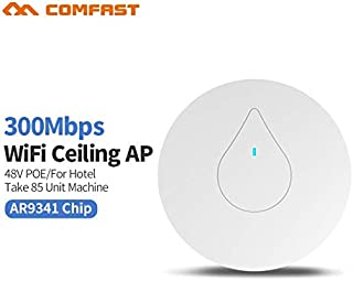 COMFAST CF-E350N Through Wall Powerful 300M Indoor Ceiling AP 48V Poe Adapter Wi fi Router Access Point Bridge Signal Ampl...