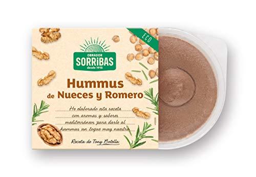 Obrador Sorribas Hummus A Base de Garbanzos con Nueces y Romero, 180g (Refrigerado)