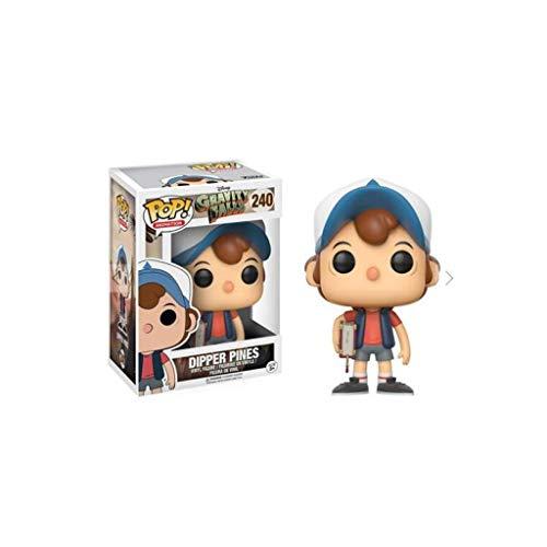 LBBD Gravity Falls x Pop! Dipper Pines estilo de la película exquisita figura coleccionable, multicolor – 9 pulgadas