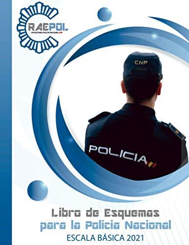 Libro de Esquemas para Policía Nacional: Escala Básica 2021