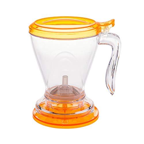 Tiesta Tea - Brewmaster Tea Infuser, 16 Ounce Tea Steeper, BPA Free, Large Tea Strainer with Fine Mesh, Bottom Dispensing, Microwave & Dishwasher Safe, Reusable Tea Filter with Lid