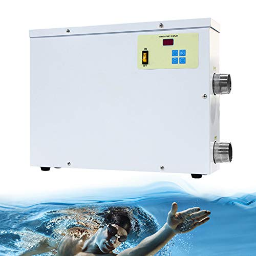 Weehomy Premium Quality 220V/380V 3KW~18KW Automatic Electric Swimming Pool Thermostat SPA Heater Water Heater Temperature Controller Widely Used in Swimming Pool Thermostat Heater Pump (220V, 18KW)