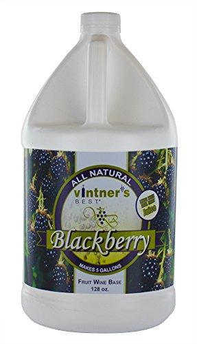 Home Brew Ohio HOZQ8-1320 Vintners Best Fruit Wine Base, Blackberry