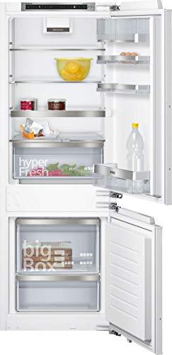 Siemens KI77SADD0 iQ500 Einbau-Kühlgefrierkombination / A+++ / 138 kWh/Jahr / 225 l / lowFrost / hyperFresh Premium 0° / LED Beleuchtung