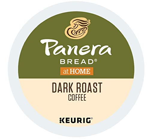Panera Bread Coffee Single Cups, Dark Roast, 80 Count