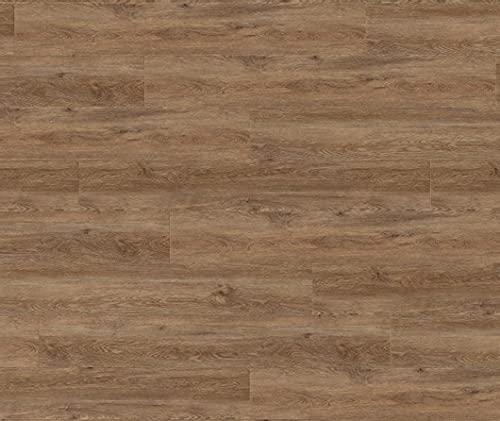 HORI® Vinyl Laminat Dielen Klick PVC Design Bodenbelag Dielenboden Vinylboden Fussbodenheizung und Feuchtraum geeignet I Eiche I 10 Dielen im Paket = 3,42 m²