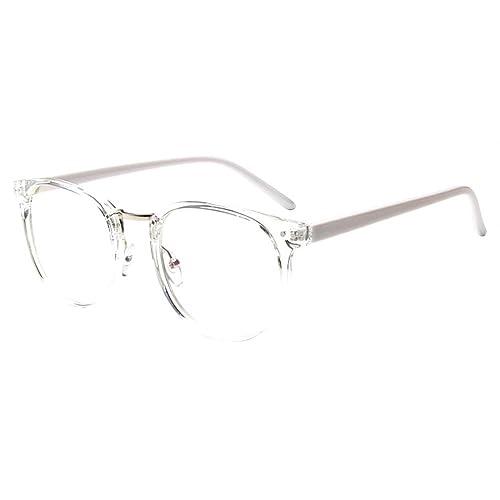 6f5eb993084d4 forepin reg  Montura para Gafas de Vista Hombre y Mujer Antiguas Grandes  Vintage Visión Clara
