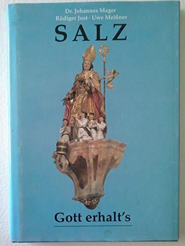 Salz, Gott erhalt´s. Kulturgeschichte alter Salzstädte und Meisterwerke deutscher Salinentechnik.