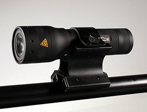 Universal Soporte Magnético + LED Lenser p7qc (Negro) LED Linterna Incluye regalo)