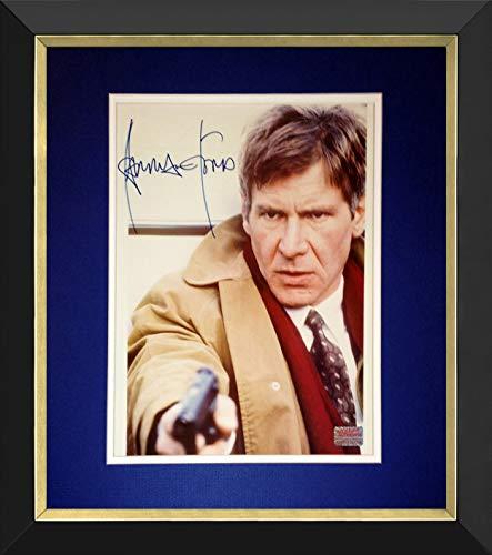 Desconocido Fotografía enmarcada de 20 x 25 cm, firmada por Harrison Ford