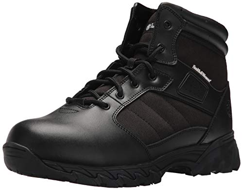 Smith & Wesson Men's Breach 2.0 Tactical Size Zip Boots, Black, 10