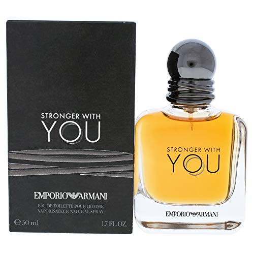 Emporio Armani Stronger With You Homme Eau de Toilette Spray – 50 ml