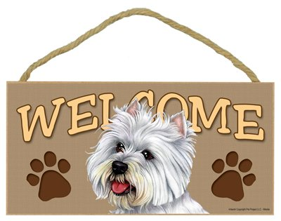 Westie Welcome Sign 5