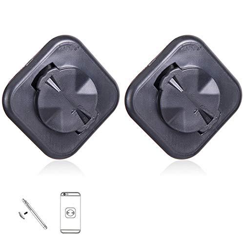Lixada MTB Rennrad Computer Adapter für Garmin Mount Extended Telefon Sitzhalter (2 Stück)