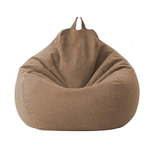 Funda de bolsa de Haricots, funda de saco de Haricots de algodón suave para niños adultos (sin relleno), fundas lavables a máquina, para salón, dormitorio, sala de juegos o dormitorio