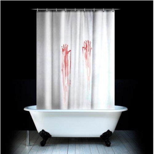 Blutbad Duschvorhang - Blut, Psycho und Horror
