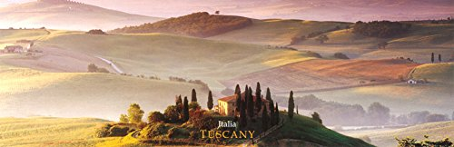 (12x36) Tuscany, Italy (Countryside) Art Poster Print