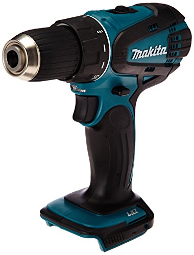 Makita DDF446Z Bohrschrauber 14,4 V (ohne Akku, ohne Ladegerät), 14.4 V, Schwarz, Blau