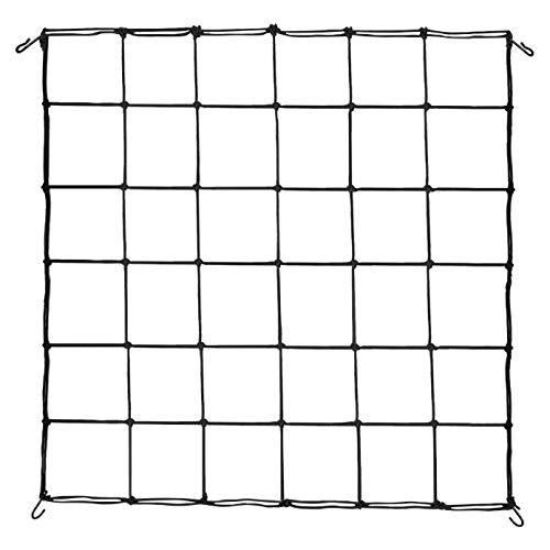 VIVOSUN 1-Pack 3x3FT Elastic Trellis Netting with Hooks for Grow Tents